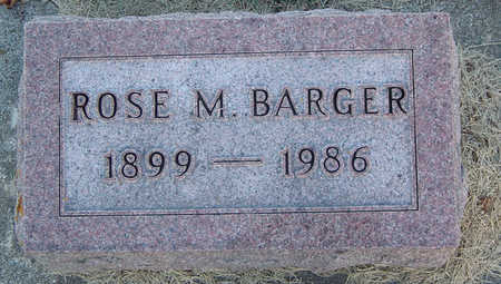 GLEASON BARGER, ROSE MAE - Delaware County, Iowa | ROSE MAE GLEASON BARGER