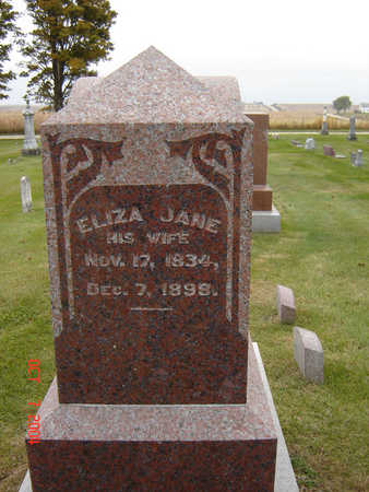 MORGAN BARR, ELIZA JANE - Delaware County, Iowa | ELIZA JANE MORGAN BARR