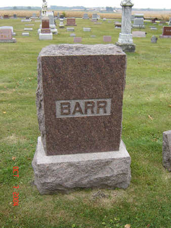 BARR, FAMILY MONUMENT - Delaware County, Iowa | FAMILY MONUMENT BARR