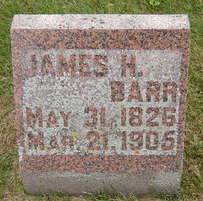 BARR, JAMES H. - Delaware County, Iowa | JAMES H. BARR