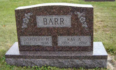 BARR, RAY A. - Delaware County, Iowa | RAY A. BARR