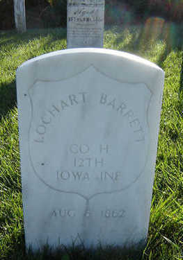 BARRETT, LOCHART - Delaware County, Iowa | LOCHART BARRETT