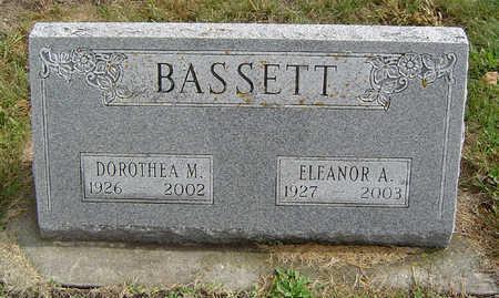 BASSETT, DOROTHEA MAXINE - Delaware County, Iowa | DOROTHEA MAXINE BASSETT