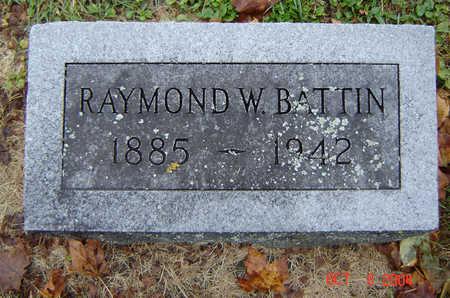 BATTIN, RAYMOND W. - Delaware County, Iowa | RAYMOND W. BATTIN