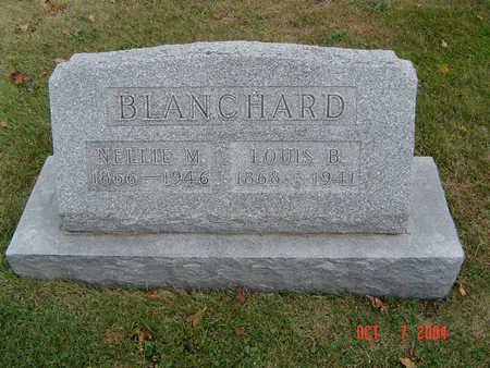 BLANCHARD, NELLIE M. - Delaware County, Iowa | NELLIE M. BLANCHARD