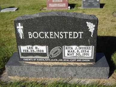 BOCKENSTEDT, RITA J. - Delaware County, Iowa | RITA J. BOCKENSTEDT