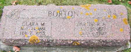 SMITH BORTON, CLARA M. - Delaware County, Iowa | CLARA M. SMITH BORTON