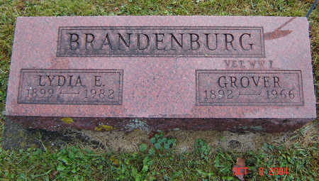 SPRAGUE BRANDENBURG, LYDIA E. - Delaware County, Iowa | LYDIA E. SPRAGUE BRANDENBURG