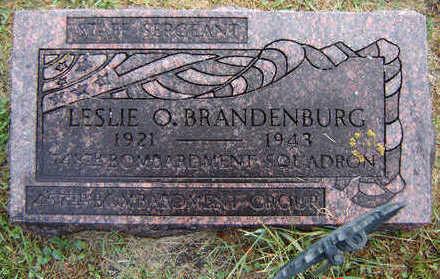 BRANDENBURG, LESLIE O. - Delaware County, Iowa | LESLIE O. BRANDENBURG