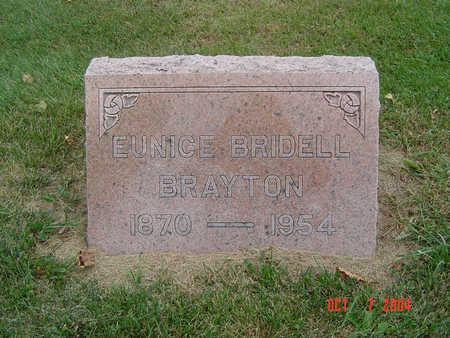 BRAYTON, EUNICE - Delaware County, Iowa | EUNICE BRAYTON