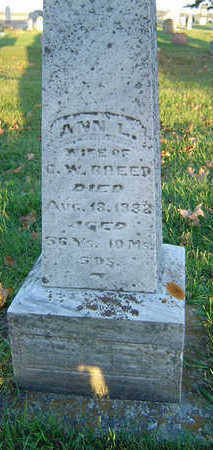 COOLIDGE BREED, ANN L. - Delaware County, Iowa | ANN L. COOLIDGE BREED