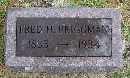 BRIGGMAN, FRED H. - Delaware County, Iowa | FRED H. BRIGGMAN