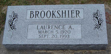 BROOKSHIER, LAURENCE A. - Delaware County, Iowa   LAURENCE A. BROOKSHIER