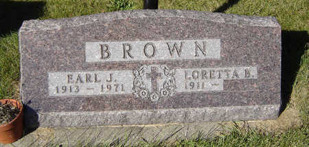 BROWN, EARL J. - Delaware County, Iowa | EARL J. BROWN
