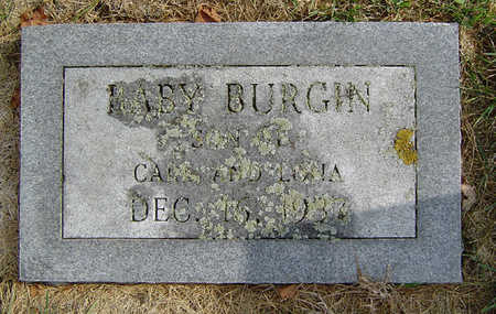 BURGIN, BABY - Delaware County, Iowa | BABY BURGIN