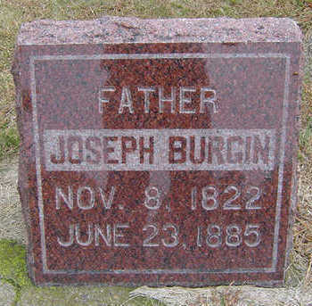BURGIN, JOSEPH - Delaware County, Iowa | JOSEPH BURGIN