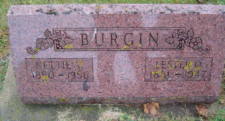 BURGIN, NETTIE VIRGINIA - Delaware County, Iowa | NETTIE VIRGINIA BURGIN