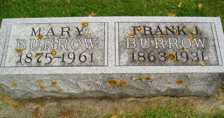 BURROW, FRANK - Delaware County, Iowa | FRANK BURROW