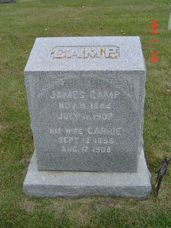 CAMP, JAMES - Delaware County, Iowa | JAMES CAMP