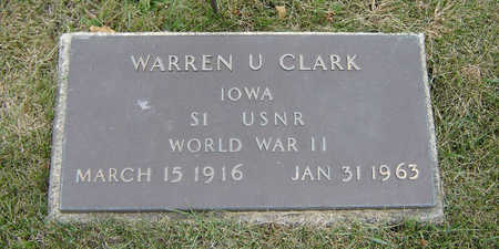 CLARK, WARREN U. - Delaware County, Iowa | WARREN U. CLARK