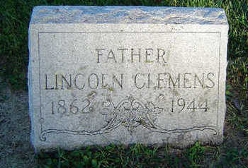 CLEMENS, LINCOLN - Delaware County, Iowa | LINCOLN CLEMENS
