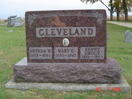 CLEVELAND, MARY E. - Delaware County, Iowa | MARY E. CLEVELAND