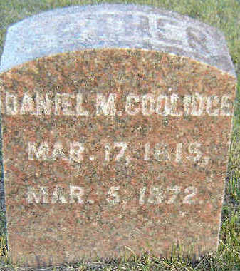 COOLIDGE, DANIEL M. - Delaware County, Iowa | DANIEL M. COOLIDGE