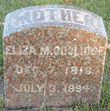 COOLIDGE, ELIZA M. - Delaware County, Iowa | ELIZA M. COOLIDGE
