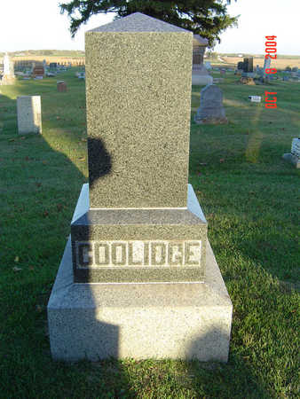 COOLIDGE, FAMILY MONUMENT - Delaware County, Iowa | FAMILY MONUMENT COOLIDGE
