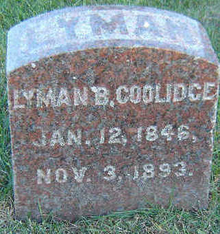 COOLIDGE, LYMAN B. - Delaware County, Iowa | LYMAN B. COOLIDGE