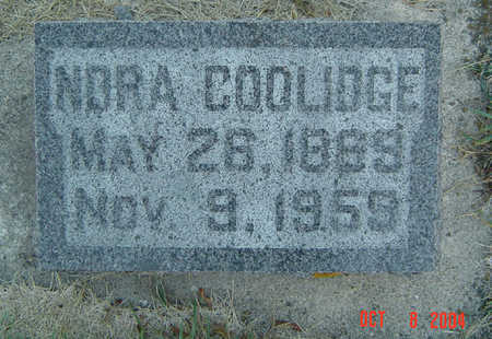 COOLIDGE, NORA - Delaware County, Iowa | NORA COOLIDGE
