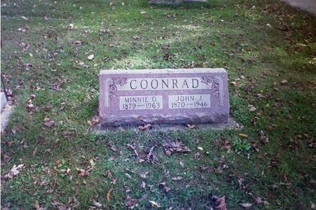 COONROD, MINNIE - Delaware County, Iowa | MINNIE COONROD