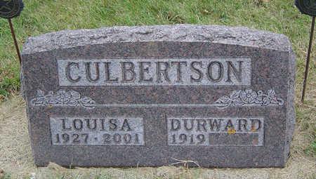 CULBERTSON, LOUISA - Delaware County, Iowa | LOUISA CULBERTSON