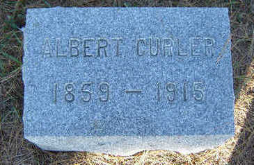 CURLER, ALBERT - Delaware County, Iowa | ALBERT CURLER