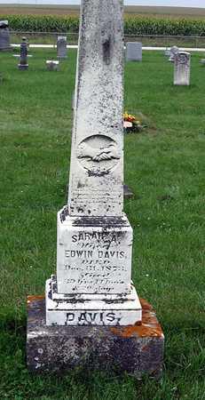 DAVIS, SARAH A. - Delaware County, Iowa | SARAH A. DAVIS