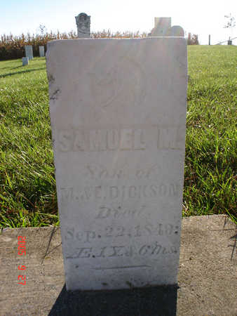 DICKSON, SAMUEL M. - Delaware County, Iowa | SAMUEL M. DICKSON
