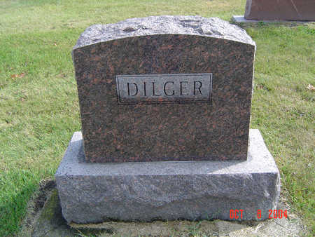 DILGER, WILLIAM IRWIN - Delaware County, Iowa | WILLIAM IRWIN DILGER