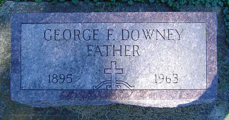 DOWNEY, GEORGE F. - Delaware County, Iowa | GEORGE F. DOWNEY
