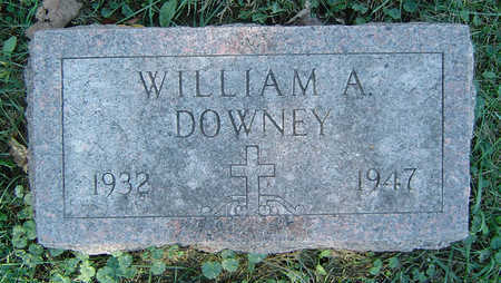 DOWNEY, WILLIAM A. - Delaware County, Iowa | WILLIAM A. DOWNEY