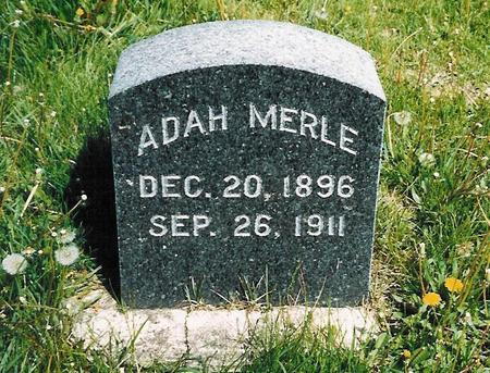 DUNN, ADAH MERLE - Delaware County, Iowa | ADAH MERLE DUNN