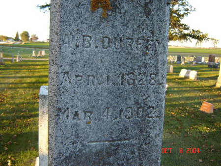 DURFEY, ALFRED B. - Delaware County, Iowa | ALFRED B. DURFEY