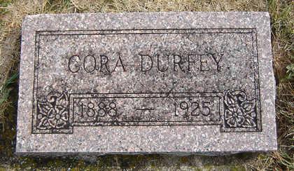 DURFEY, CORA - Delaware County, Iowa | CORA DURFEY