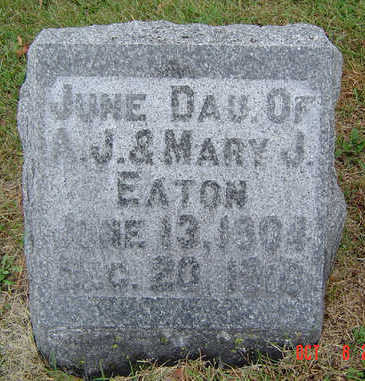 EATON, JUNE - Delaware County, Iowa | JUNE EATON