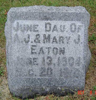EATON, JUNE - Delaware County, Iowa | JUNE EATON