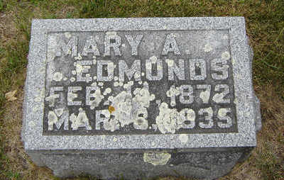 SEWARD EDMONDS, MARY A. - Delaware County, Iowa | MARY A. SEWARD EDMONDS