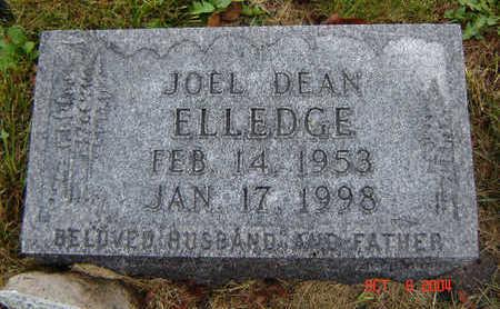 ELLEDGE, JOEL DEAN - Delaware County, Iowa | JOEL DEAN ELLEDGE