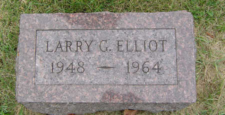 ELLIOTT, LARRY G. - Delaware County, Iowa | LARRY G. ELLIOTT