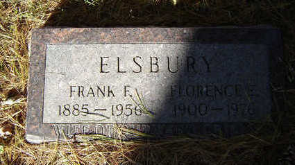 ELSBURY, FRANK F. - Delaware County, Iowa | FRANK F. ELSBURY