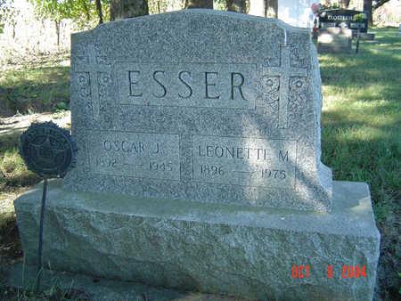 ESSER, OSCAR J. - Delaware County, Iowa | OSCAR J. ESSER