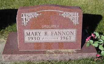 FANNON, MARY R. - Delaware County, Iowa | MARY R. FANNON